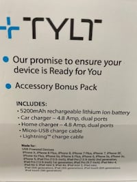 TYLT Power Essentials Kit (IPhone Or Android) BNIB Front Royal