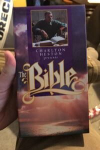 The bible VHS tapes