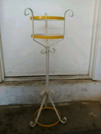 white and yellow plant stand Henderson, 89011