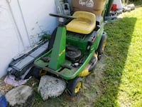 green and black ride on mower 9 horse power Cape Coral, 33990