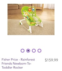 Infant rocker to toddler chair Mississauga, L4T 3A4