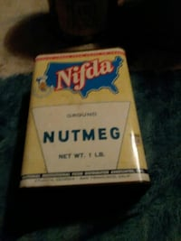 Old old cans $10 for the old nutmeg can Hagerstown, 21740