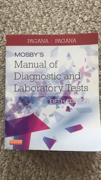 Manual of Diagnostic and Laboratory Tests Baltimore, 21231