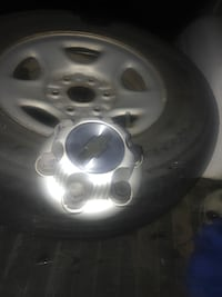 6 lug Chevy Silverado stock rims will trade for car CD player with aux Newburgh, 47630