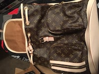 Brown and Gold Bosphore Monogram LV Backpack (REAL) Dothan, 36303