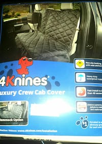 NEW 4knines luxury crew cab cover dog seat cover Herndon, 20170