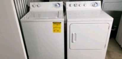 GE. WASHER & DRYER SET