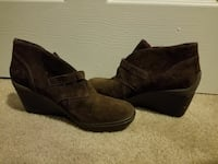 TSUBO Brown Ankle Boots- Size 9