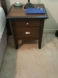 brown wooden 2-drawer nightstand San Antonio, 78259