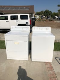 white washer and dryer set Buena Park, 90620