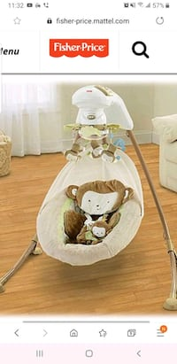 Fisher price cradle swing Cleveland, 44134