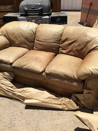 brown suede 3-seat sofa Tucson, 85706