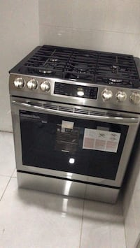 black and gray gas range oven Lancaster