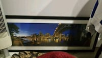 black and white wooden framed painting of house Vancouver, V5R 4H5