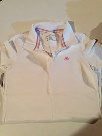 white and blue polo shirt Whitby, L1N 1W4