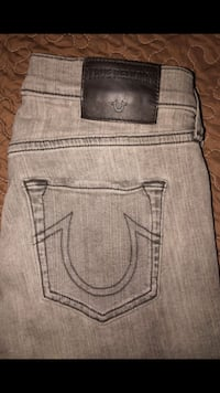 gray True Religion denim bottoms Bakersfield, 93313