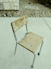 Vintage school chair Broomfield, 80023