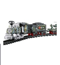 Remote Control Train Set with Real Smoke