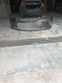 2017 toyota camry front bumper cover