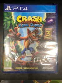 Sony ps4 crash bandicoot n-sane trilogy case London, W5 2NU