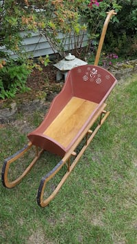 Hand Made Child Sled Manchester