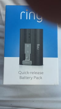 Ring quick release battery back