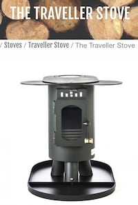 """Traveller"" Wood Stove by Anevay Vancouver, V6A 1V7"