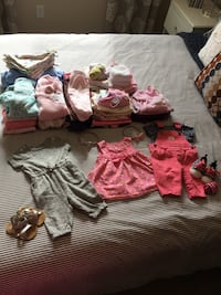 160 items! HUGE Baby Girl Clothing Lot Calgary, T3K 5A2
