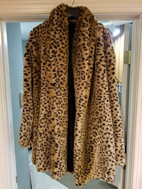 Frederick's of Hollywood faux fur coat Burtonsville