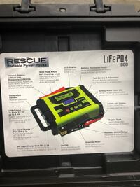 Brand new battery and alternator booster and tester Edmonton