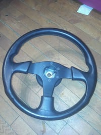 MOMO  LEATHER. STEERING WHEEL