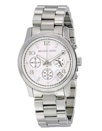 Silver Michael KHORS Chonograph watch with silver  Toronto, M3J