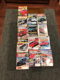 Mustang monthly magazines