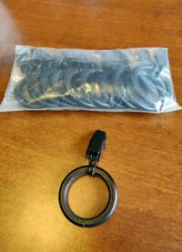 New Clip Curtain Rod Ring
