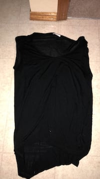 Women's black sleeveless top Winnipeg, R2N 3X1