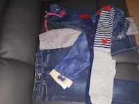 Lot de jeans/pantalon fille 3ans