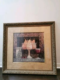 Wood FRAME with print