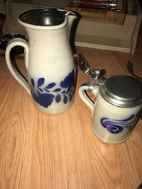 Two beautiful pottery pitcher/steins Coventry, 06238