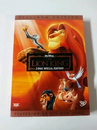 Lion king platinum 2 disc edition.