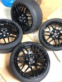 """18"""" Forgestar F14 5x114.3 Wheels and Tires Silver Spring, 20904"""