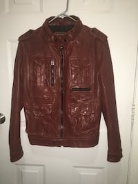 Fashion leather jacket  埃德蒙顿, T6J 2H8