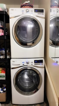 Whirlpool Steam front load washer & Dryer
