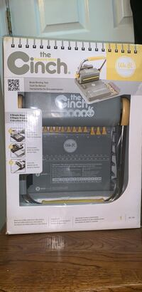 The Cinch square hole- Book Binding tool Chicago, 60608