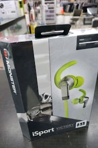 Monster iSport Victory wireless headphones @Blackfriday deal. Toronto, M9V 1L2