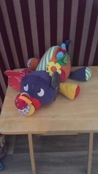 blue, red, and yellow animal plush toy Deux-Montagnes, J7R 1P1
