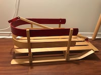 Wooden sled with handle Toronto, M2N 4P9