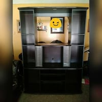 black wooden TV hutch with flat screen television Brawley, 92227