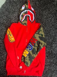 BAPE Zip Up or best offer Kitchener, N2C 1W9