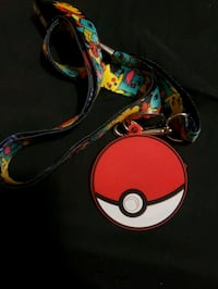 Pokeball lanyard