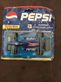 Collectible Pepsi Race car toy.